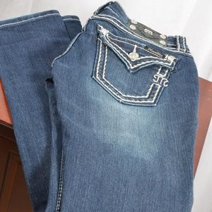 Miss Me Signature Skinny Jeans Size 27 Inseam 32